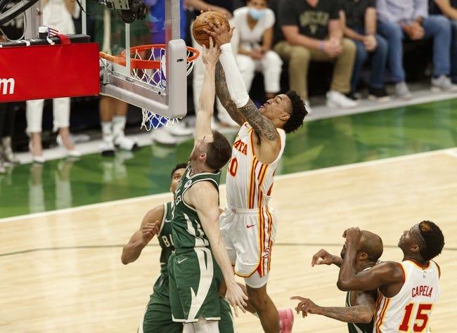 Best NBA Player Props: Atlanta Hawks at Milwaukee Bucks 6/26/21