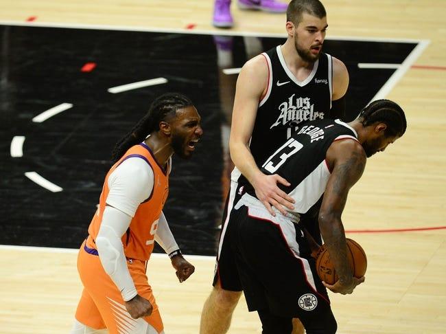 Phoenix Suns at Los Angeles Clippers - 6/26/21 NBA Picks and Prediction
