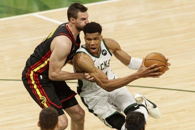 Best NBA Player Props: Milwaukee Bucks at Atlanta Hawks 6/27/21