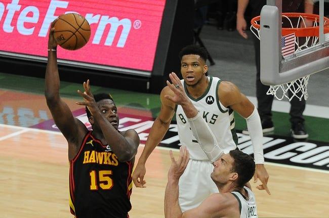 Milwaukee Bucks at Atlanta Hawks - 6/27/21 NBA Picks and Prediction