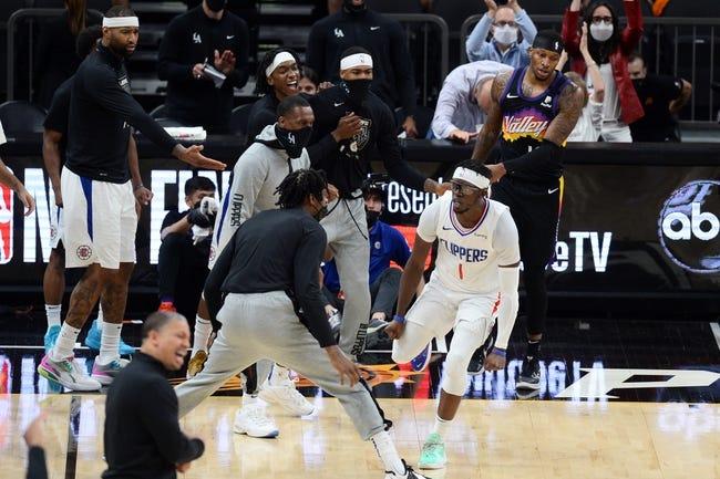 Phoenix Suns at Los Angeles Clippers - 6/30/21 NBA Picks and Prediction