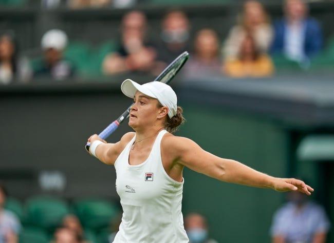 Katerina Siniakova vs Ashleigh Barty Wimbledon Tennis Picks and Predictions 7/3/21