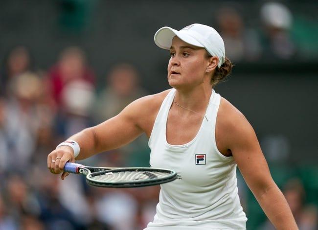Anna Blinkova vs Ashleigh Barty Wimbledon Tennis Picks and Predictions 7/1/21