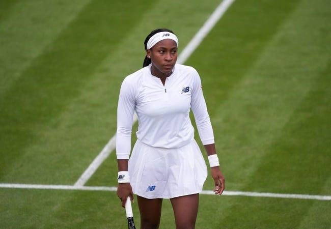 CoCo Gauff vs Elena Vesnina Wimbledon Tennis Picks and Predictions 7/1/21