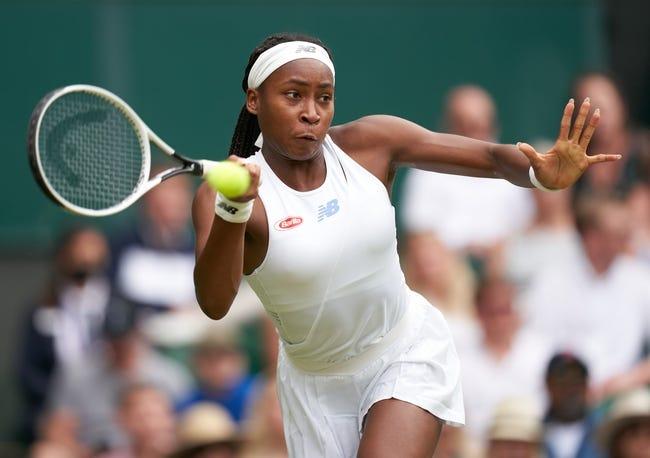 CoCo Gauff vs Kaja Juvan Wimbledon Tennis Picks and Predictions 7/3/21