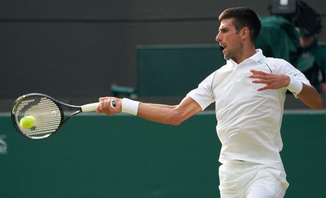 Cristian Garin vs Novak Djokovic Wimbledon Tennis Picks and Predictions 7/5/21
