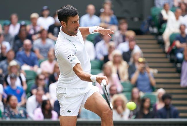 Denis Shapovalov vs Novak Djokovic Wimbledon Tennis Picks and Predictions 7/9/21
