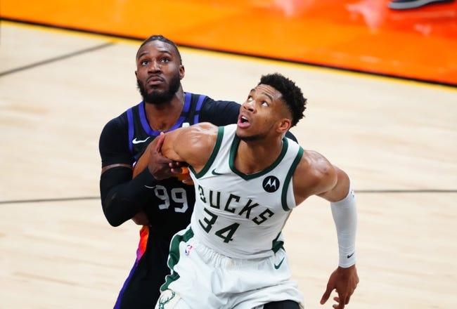 Best NBA Player Props: Milwaukee Bucks at Phoenix Suns 7/8/21
