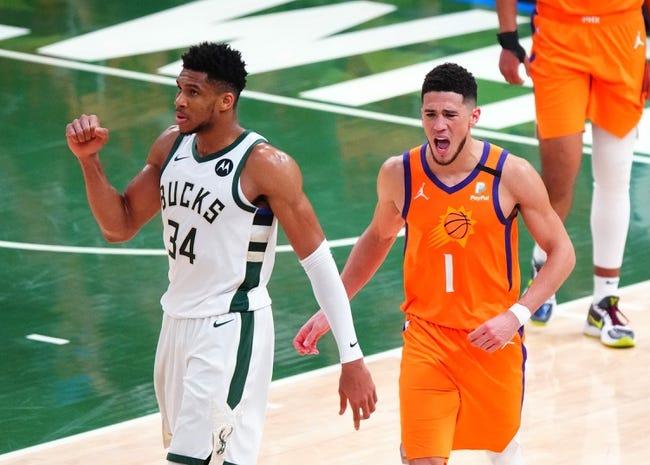 Best NBA Player Props: Milwaukee Bucks at Phoenix Suns 7/17/21