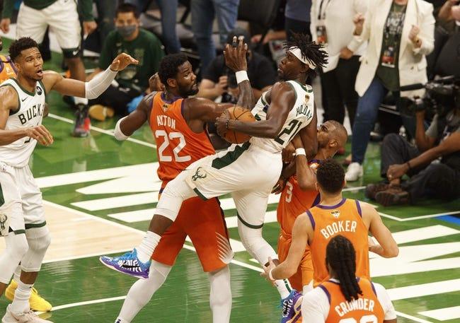 Milwaukee Bucks at Phoenix Suns - 7/17/21 NBA Picks and Prediction