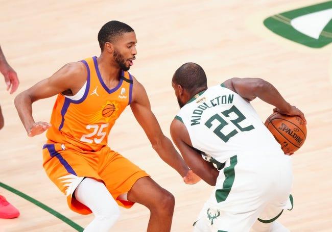 Best NBA Player Props: Phoenix Suns at Milwaukee Bucks 7/20/21