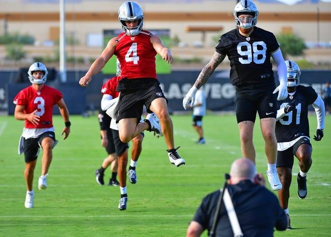 Seattle Seahawks at Las Vegas Raiders 8/14/21 NFL Picks and Predictions
