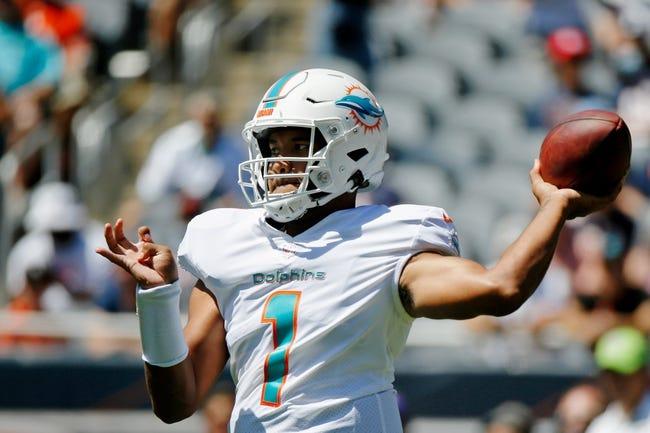 Atlanta Falcons at Miami Dolphins - 8/21/21 NFL Picks and Prediction