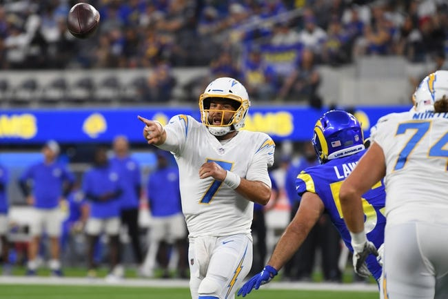 Los Angeles Chargers at Seattle Seahawks - 8/28/21 NFL Picks and Prediction
