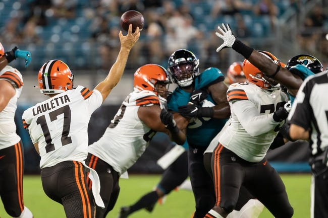 New York Giants at Cleveland Browns - 8/22/21 NFL Picks and Prediction
