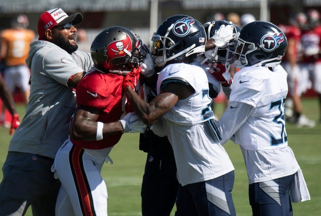 Tennessee Titans at Tampa Bay Buccaneers - 8/21/21 NFL Picks and Prediction