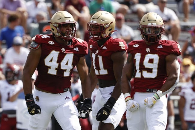 Boston College at Massachusetts: 9/11/21 College Football Picks and Predictions