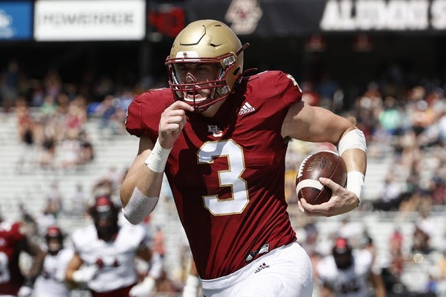 Boston College at Temple: 9/18/21 College Football Picks and Predictions