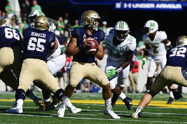 Navy at Memphis: 10/14/21 College Football Picks and Prediction