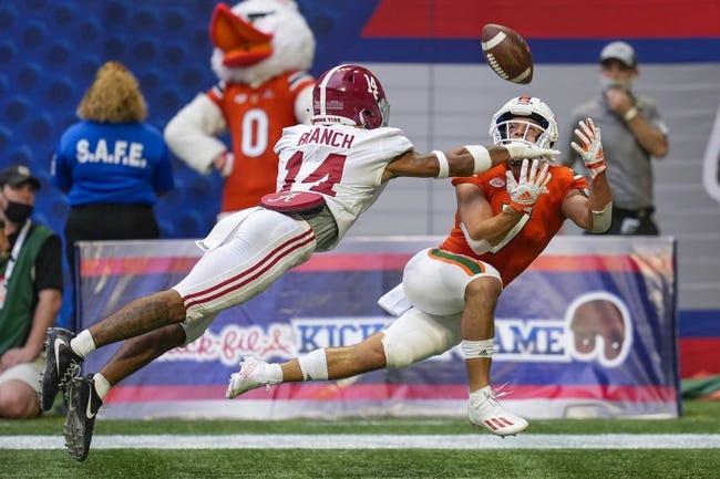 Appalachian State at Miami-FL - 9/11/21 College Football Picks and Prediction