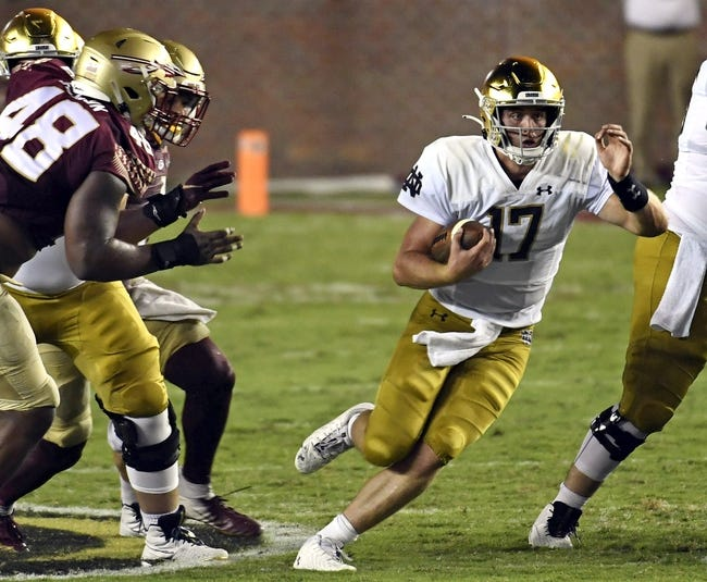 Toledo at Notre Dame: 9/11/21 College Football Picks and Predictions
