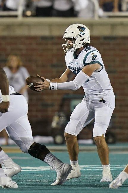 Coastal Carolina at Buffalo - 9/18/21 College Football Picks and Prediction