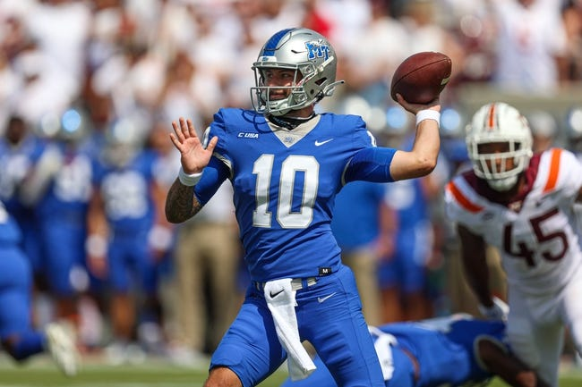 Middle Tennessee at Charlotte: 9/24/21 College Football Picks and Prediction
