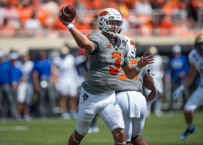 Oklahoma State at Boise State - 9/18/21 College Football Picks and Prediction