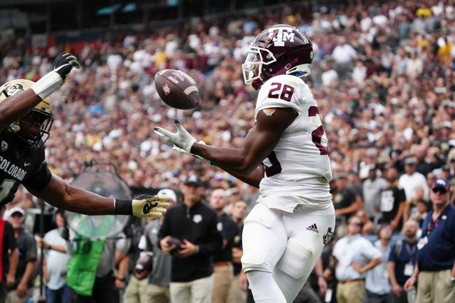 New Mexico at Texas A&M: 9/18/21 College Football Picks and Predictions