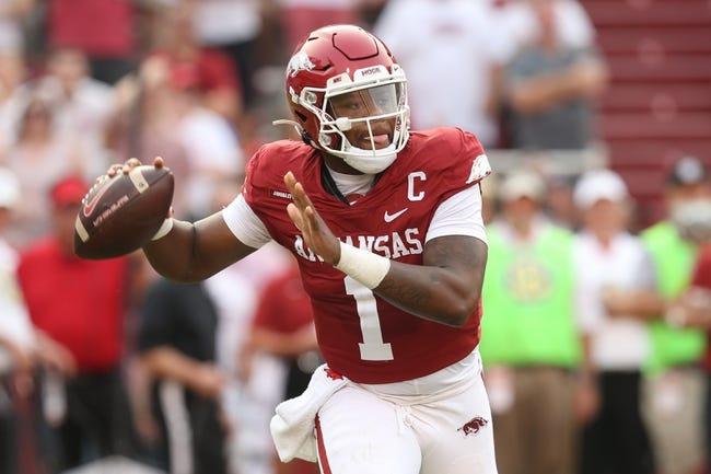 Georgia Southern at Arkansas: 9/18/21 College Football Picks and Predictions