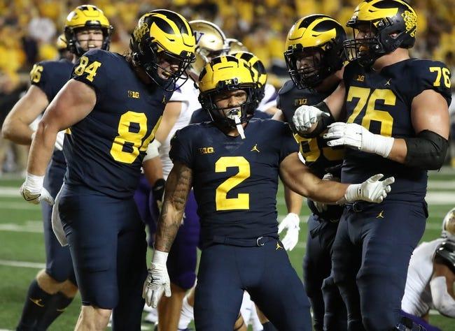 NIU at Michigan: 9/18/21 College Football Picks and Prediction