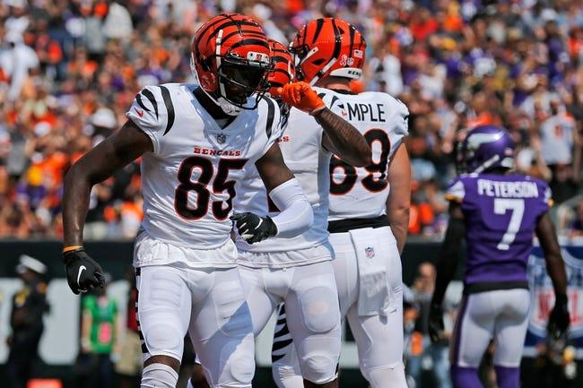 Cincinnati Bengals at Chicago Bears - 9/19/21 NFL Picks and Prediction