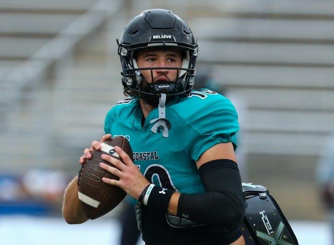 Massachusetts at Coastal Carolina: 9/25/21 College Football Picks and Prediction