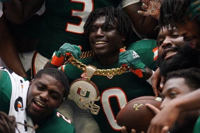 Virginia at Miami: 9/30/21 College Football Picks and Predictions