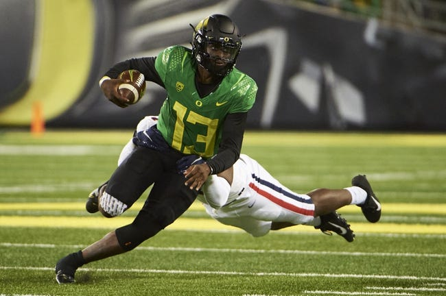 California at Oregon: 10/15/21 College Football Picks and Prediction