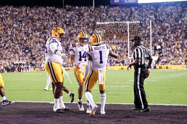 LSU at Kentucky: 10/9/21 College Football Picks and Prediction