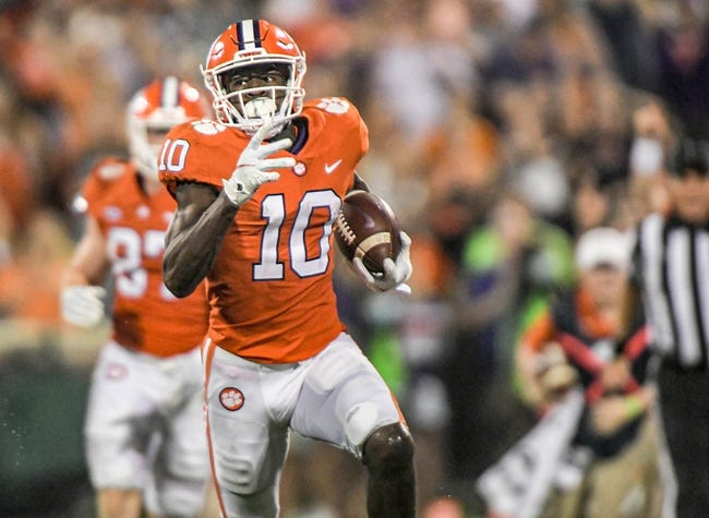 Clemson at Syracuse: 10/15/21 College Football Picks and Predictions