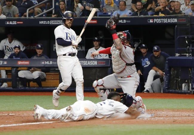 Boston Red Sox at Tampa Bay Rays - 10/8/21 MLB Picks and Prediction