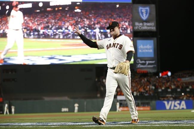 Los Angeles Dodgers at San Francisco Giants - 10/14/21 MLB Picks and Prediction