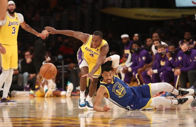 Golden State Warriors at Los Angeles Lakers - 10/19/21 NBA Picks and Prediction