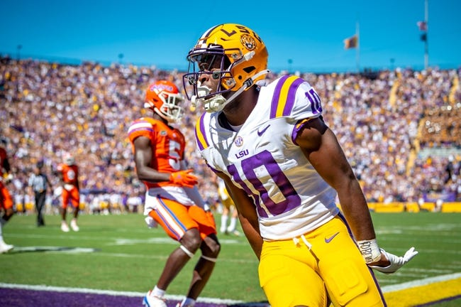 LSU at Ole Miss: 10/23/21 College Football Picks and Predictions
