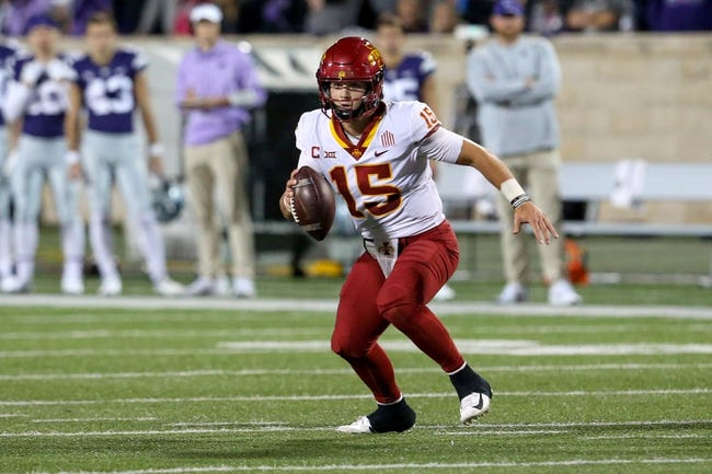 Oklahoma State at Iowa State: 10/23/21 College Football Picks and Predictions
