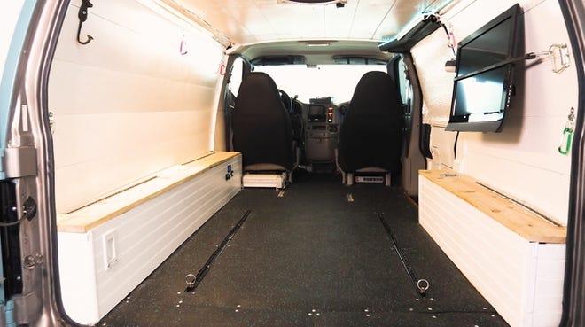 Low Profile SeaFoam GMC Safari AWD Adventure Van