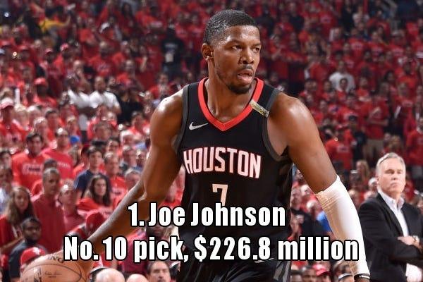 誰是梯隊中NBA生涯總薪金最高的?2001年梯隊篇