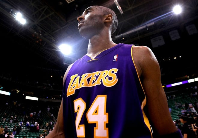 All the Laker jerseys Kobe Bryant wore   HoopsHype