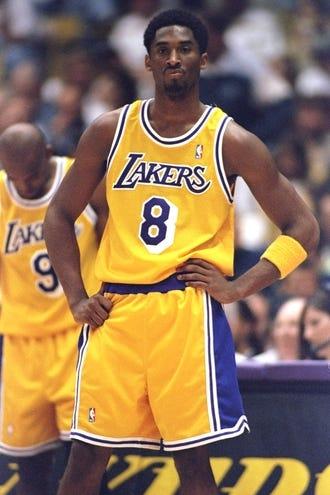 All the Laker jerseys Kobe Bryant wore | HoopsHype