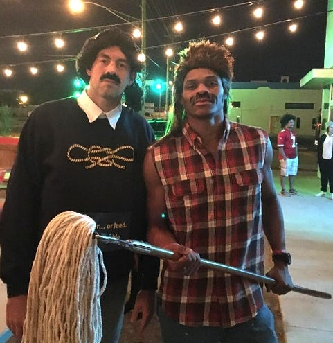 NBA players in epic Halloween costumes