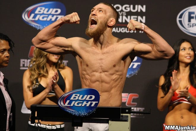 Photo Gallery The Many Weights Of Ufc 205 Headliner Conor Mcgregor