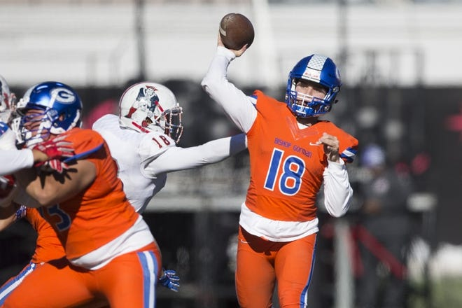 No 1 Bishop Gorman Finishes Another Perfect Season With 84 8 Win In Nevada Title Game Usa Today High School Sports