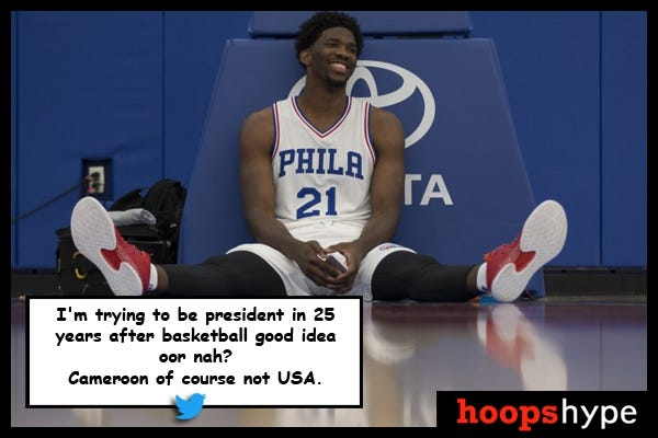 The best Joel Embiid quotes ever | HoopsHype